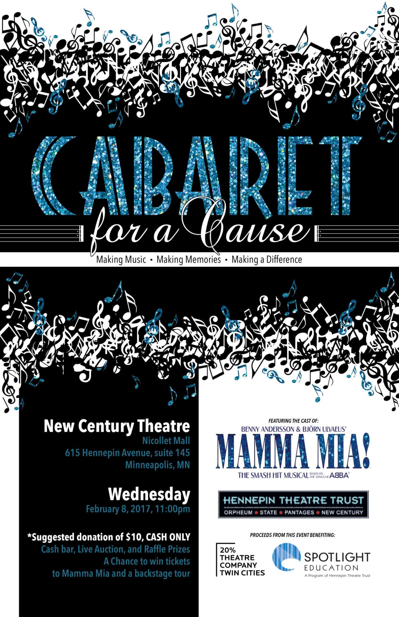 Cabaret for a Cause 2016 2017