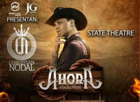 Christian Nodal with hat