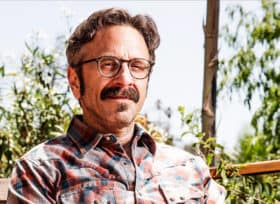 Marc Maron looking at camera