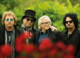Image of Toto band members