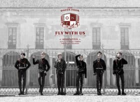 Oneus Fly With Us Tour art