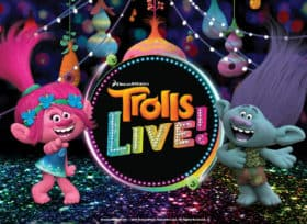 Trolls backdrop