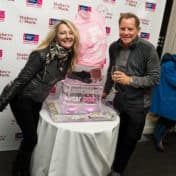 Mean Girls Making Strides Against Breast Cancer ice sculpture photo