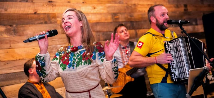 Ukranian Village Band performs at Hennepin Theatre Trust event center
