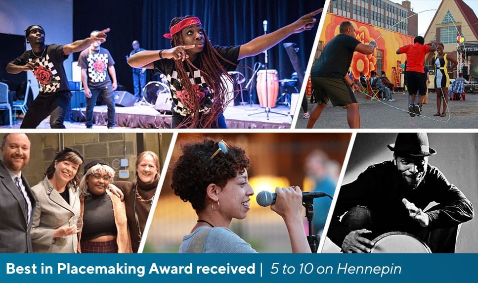 Trust's 5 to 10 on Hennepin programming wins an award