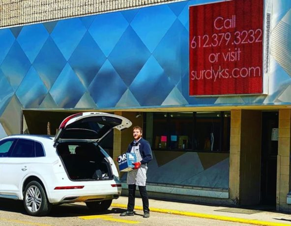 Surdyk's is providing curbside pickup to help with social distancing