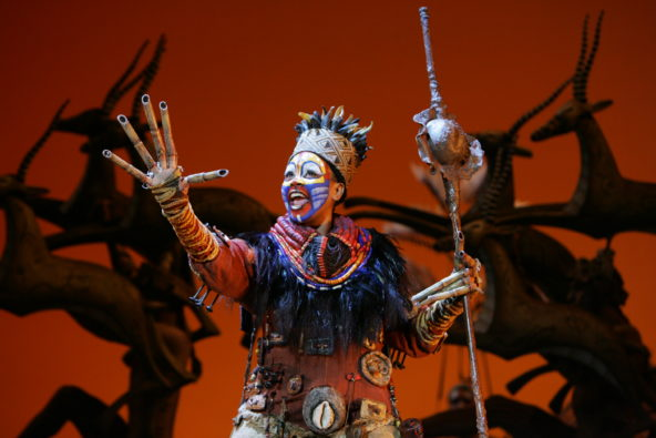Production image from 2007 run of The Lion King